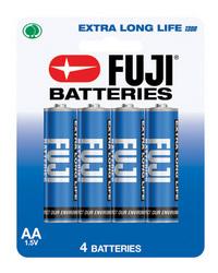 Battery AA Pack/4 Fuji Long Life Heavy Duty