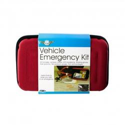Vehicle Emergency Kit w/Zippered Case