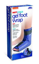 Gel Foot Wrap Hot/Cold Small/Med Men 6-8.5/Wm 7-10
