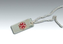 Medical Identification Jewelry-Necklace- Heart