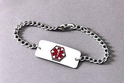 Medical Identification Jewelry-Bracelet- Blank