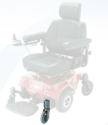 Wheel only Front for Image Power Chair