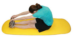 Cushioned Exercise Mat Red 26 x 72 x 0.6