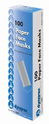 Paper Face Masks Bx/100