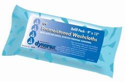Washcloths - Premoistened & Disposable Refill Pk/64