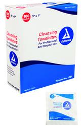 Towellette Cleansing Bx/100 5 x7