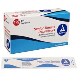 Tongue Depressors- Sterile Bx/100