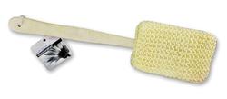 Exfoliating Body Sponge 15 w/Wooden handle
