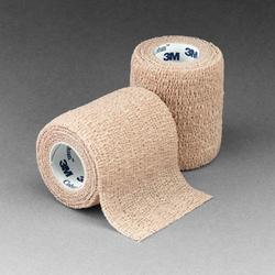 Coban Self-Adherent Wrap 2 x5 Yd Bx/36 Tan