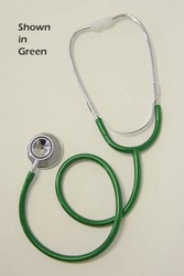 Dual Head Green Stethoscope 22