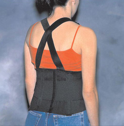 Back Support Industrial W/ Suspenders Lrg 39-44