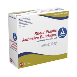 Adhesive Bandages Sterile Spots 7/8 Dia. Bx/100