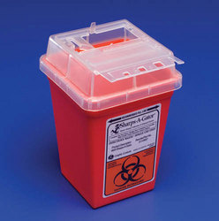 Sharps-A-Gator- Counter Unit- 2 Gallon