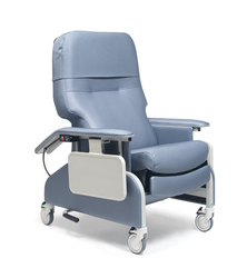 Deluxe Clinical Care Recliner Blue Ridge