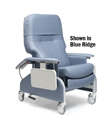 Deluxe Clinical Care Recliner Warm Taupe
