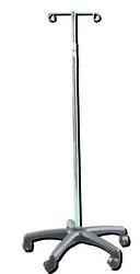I.V. Stand 2 Hook - 5 Leg