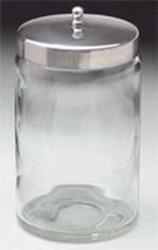 Sundry Jars - Unlabeled Glass Set/6 7 x 4.25