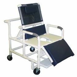 Shower Chair Bariatric PVC Reclining w/ELR