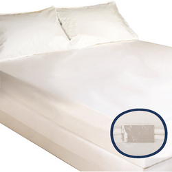 Mattress Cover Bugstop Zipper Twin 39 x 75 x 15 (Case/6)