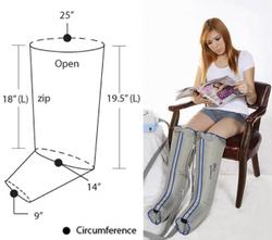 Lymphadema Garment XL 1/2-Leg Single