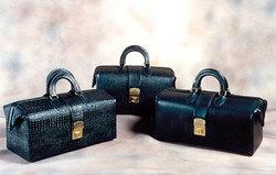 Euro Physicians Bag 15 Black Alligator