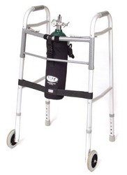 TOTE Oxygen Tank Carrier fits M6-Cylinder for Wheeled Walker