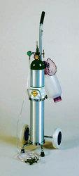 Crash Cart With 'E-Tank' & Cart & Resuscitator Bag