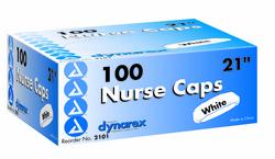 Surgical Caps Blue 21 Bx/100