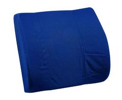 Lumbar Cushion w/Strap Black