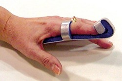 Baseball Finger Splint Large Bulk PK/6 Non-Retail