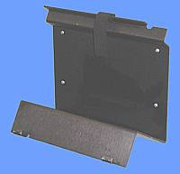Wall Bracket for Amrex units Black Anodized Aluminum