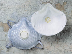N95 Mask & Respirator Bx/10 w/Valve