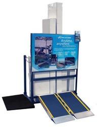 Show & Stow Portable Ramp Display & Storage Rack