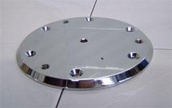 Advantage Rail Portable Floor Plate Silver