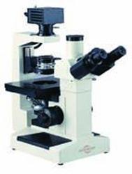 Inverted Trinocular Microscope w/Plan Phase Optics