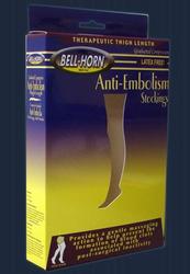 Anti-Em C/T Thigh Stocking Beige XXLarge Regular 18 mmHg