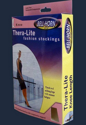 Thera Lite C/T Knee Stockings Nude Large 9-15 mmHg