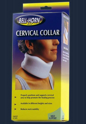 Cervical Collar w/ Stockinette 3.5 Ht. Large 18 - 20