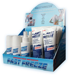 FastFreeze ProStyle Therapy Gel Countertop Display