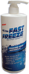 FastFreeze ProStyle Therapy Gel 16oz Pump
