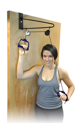 Overdoor Shoulder Pulley Exer Kit Blue Jay Brand