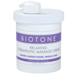 Biotone Relaxing Therapeutic Creme 16 oz.