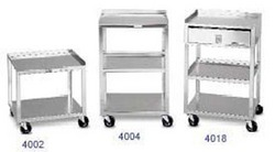 Mobile Cart- 3 Shelf MB-T 29-1/2 Hx18-3/4 Wx16-3/4 D