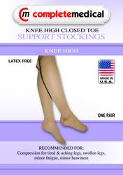 X-Frm Surg Weight Stkngs 2Xlg 30-40mmHg Below Knee Clsd Toe