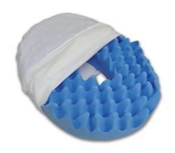 Convoluted Foam Softeze Ring 16Ñ x 14 1/8 White Cover