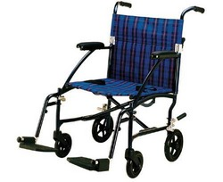Fly-Lite Transport Chair Blue 19