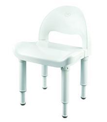 Moen Shower Chair w/Handles Tool-Free Adjustable