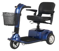 CompanionTM II 3-Wheel Elec Scooter Arctic Blue Full-Size