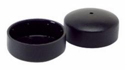 Lumex Glide Caps Black (pr)