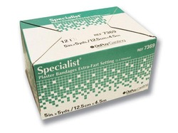 Specialist Plaster Bandages X-Fast Setting 4 x5yds Bx/12